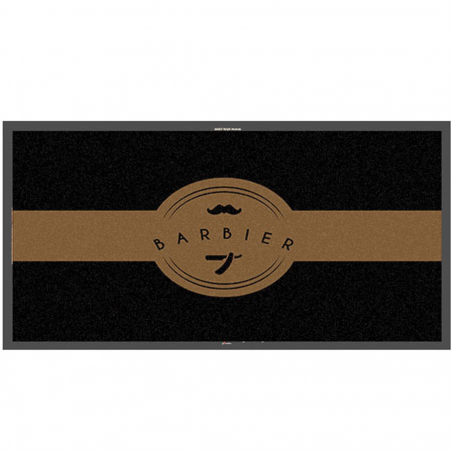 Tapis logo barbier