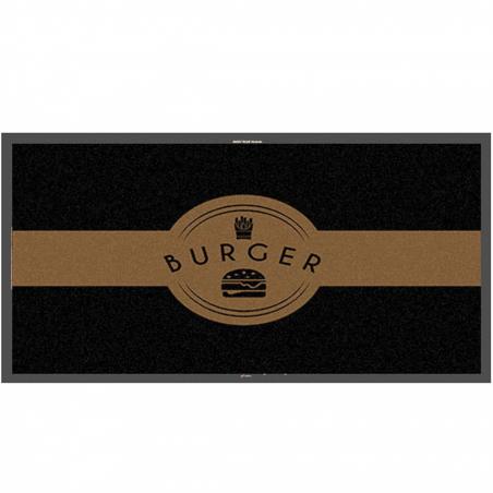 Tapis logo burger