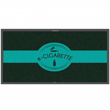 Tapis logo e-cigarette