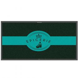 Tapis logo épicerie