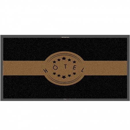 Tapis logo hôtel