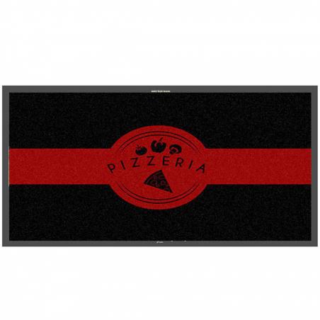 Tapis logo pizzeria