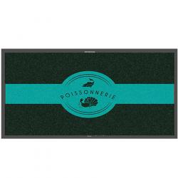 Tapis logo poissonnerie