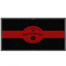 Tapis logo restaurant