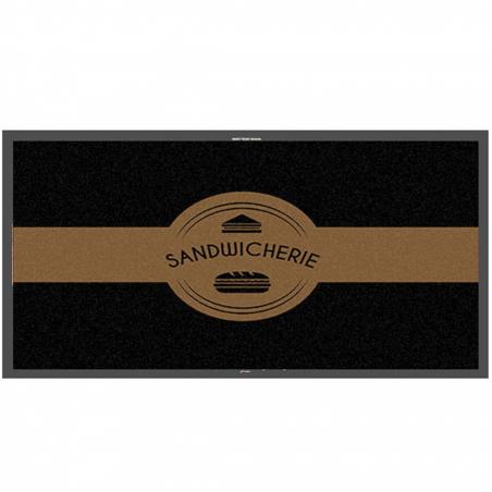 Tapis logo sandwicherie