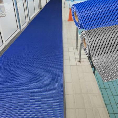 Tapis piscine vestiaires antidérapant