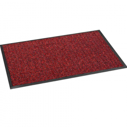 Tapis-entree-absorbant-anti-poussiere-anti-salissures-rouge