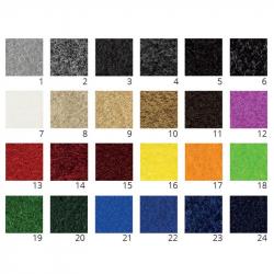 Tapis personnalisé fibre coco synthétique professionnel couleurs