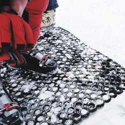 Caillebotis stations de ski