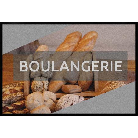 Tapis logo boulangerie - Tapis thématique