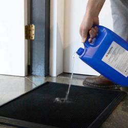 Solution désinfectante tapis - Tapis désinfectants chaussures