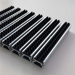 Tapis d'entrée aluminium brosse - Tapis aluminium