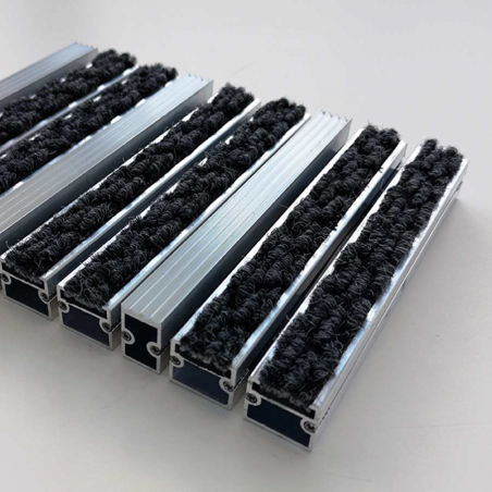 Tapis aluminium classique personnalisable - Tapis aluminium