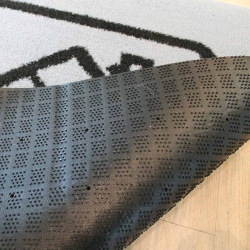 semelle tapis logo extérieur antidérapant