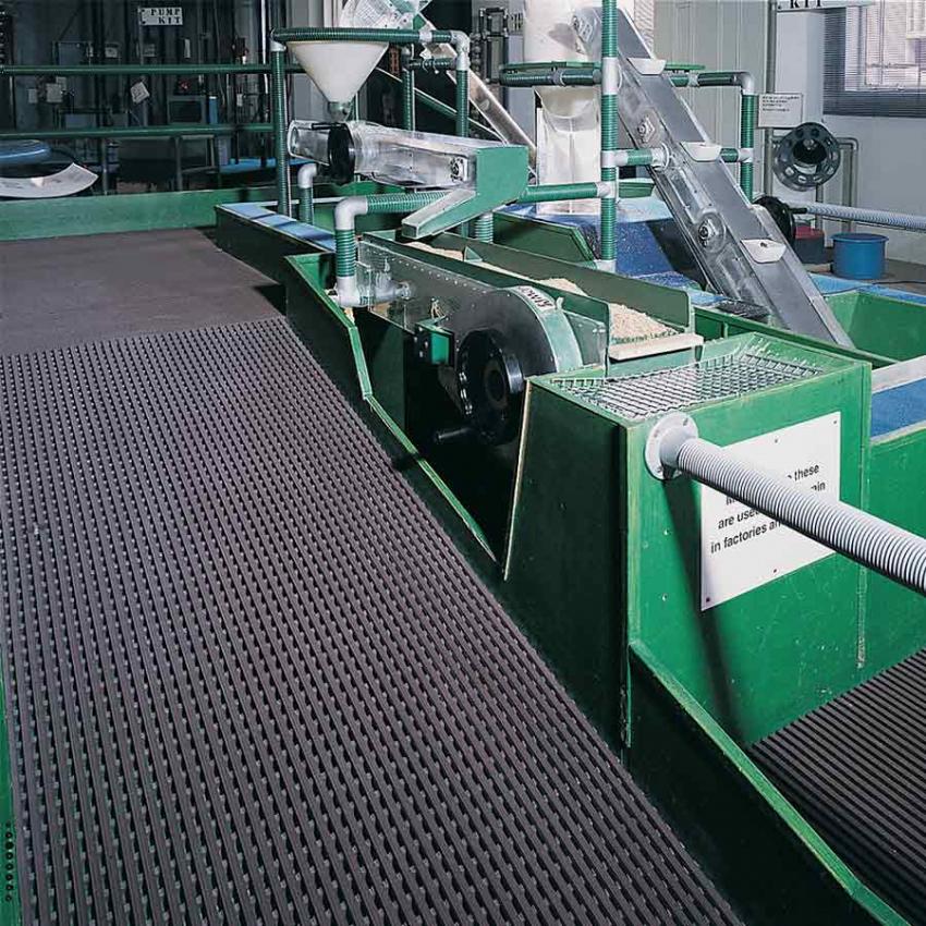 Revêtement de sol industriel pvc - Tapis antifatigue et de sécurité