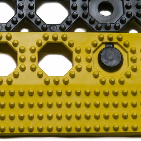 Dalles pvc clipsable antidérapantes - Tapis antifatigue et de sécurité