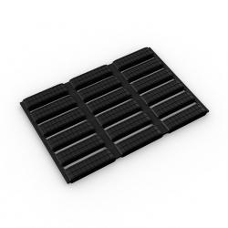 Caillebotis PVC antifongiques - Caillebotis hygiéniques